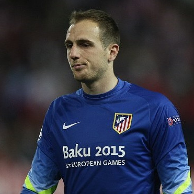 Oblak's Match Shirt, Atletico Madrid-Juventus 2014