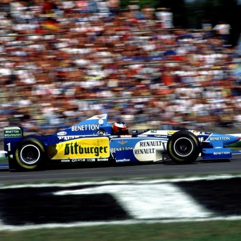 Michael Schumacher Benetton B195 Formula 1 Exhaust Bank