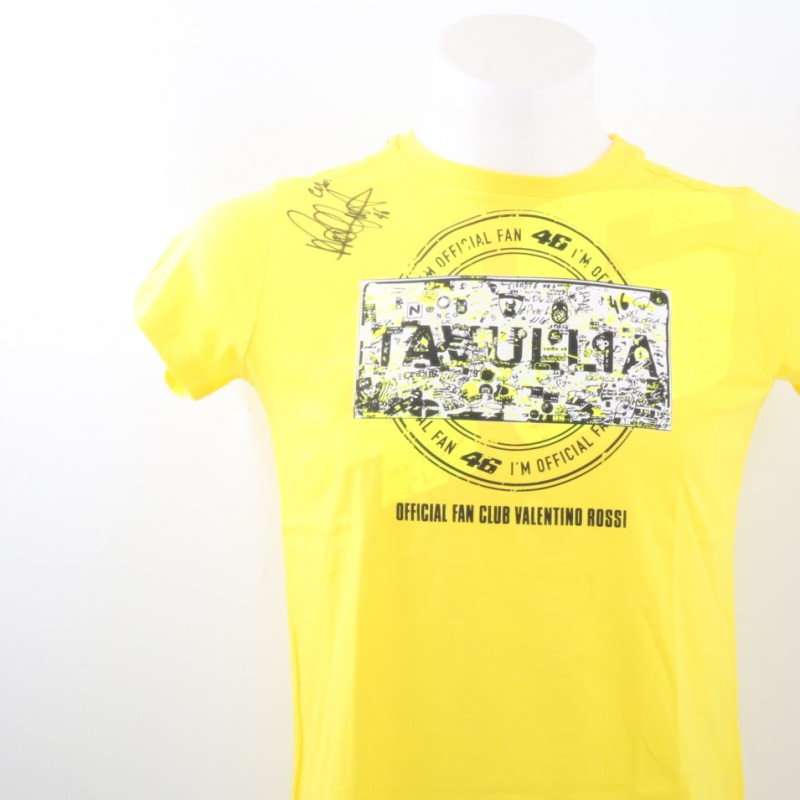 Official Valentino Rossi Fan Club shirt (Women) - Signed