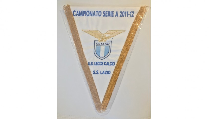 Official Pennant Lecce-Lazio 2011/12