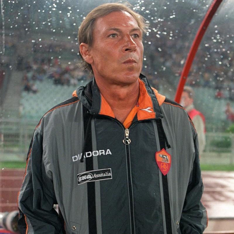 Roma Training Jacket Worn by Zdenek Zeman