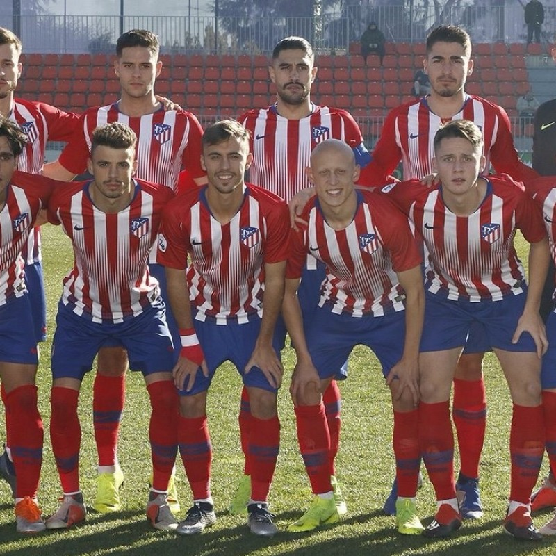 Atletico Madrid B Match Shirt, Segunda Divison B 2018/19
