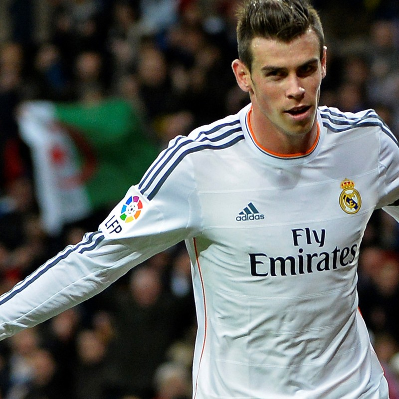 Bale Real Madrid shirt, issued/worn Liga 2013/2014