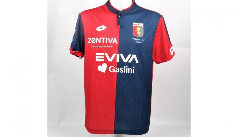Brlek's UNWASHED Special Genoa-Sampdoria Bench-Worn Shirt