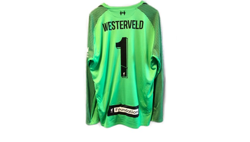 low cost 3ea2d 02c09 Westerveld's Liverpool Legends Game Worn and Signed Shirt - CharityStars