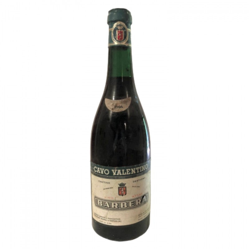 Bottle of Barbera d'Alba, 1966 - Cavo Valentino