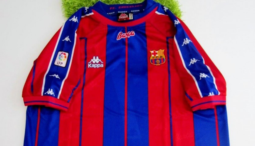 441ac6aa9a7 Figo match issued worn shirt