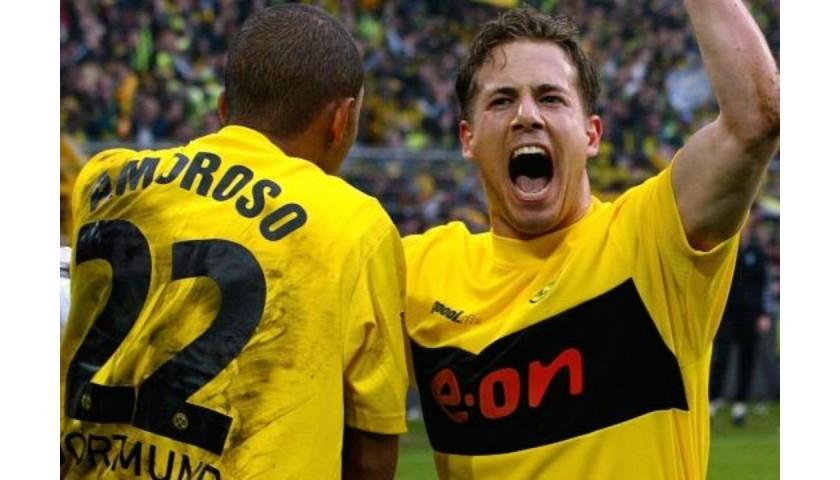 Metzelder's Official Borussia Dortmund Signed Shirt, 2002/03