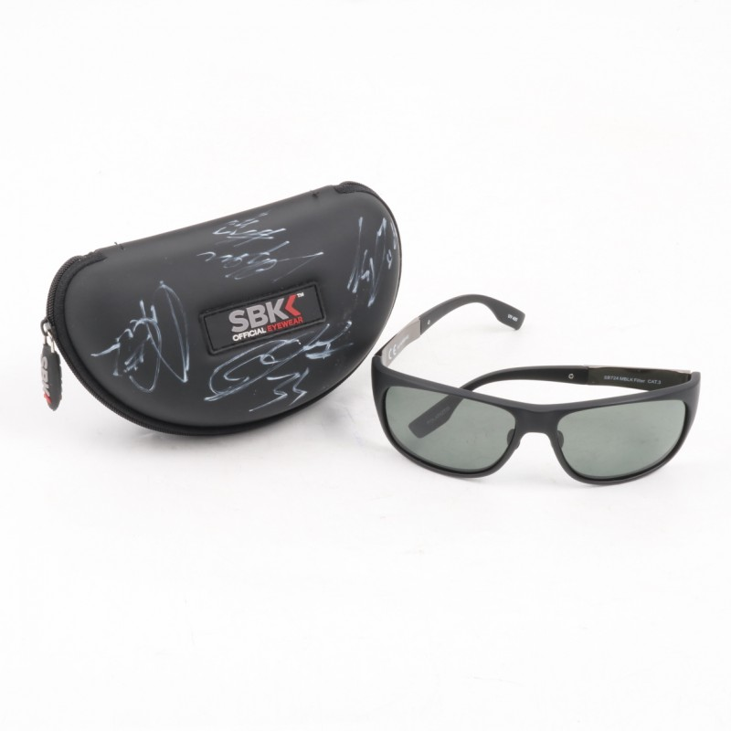 Official Superbike Sunglasses - Autographed by SBK Racers