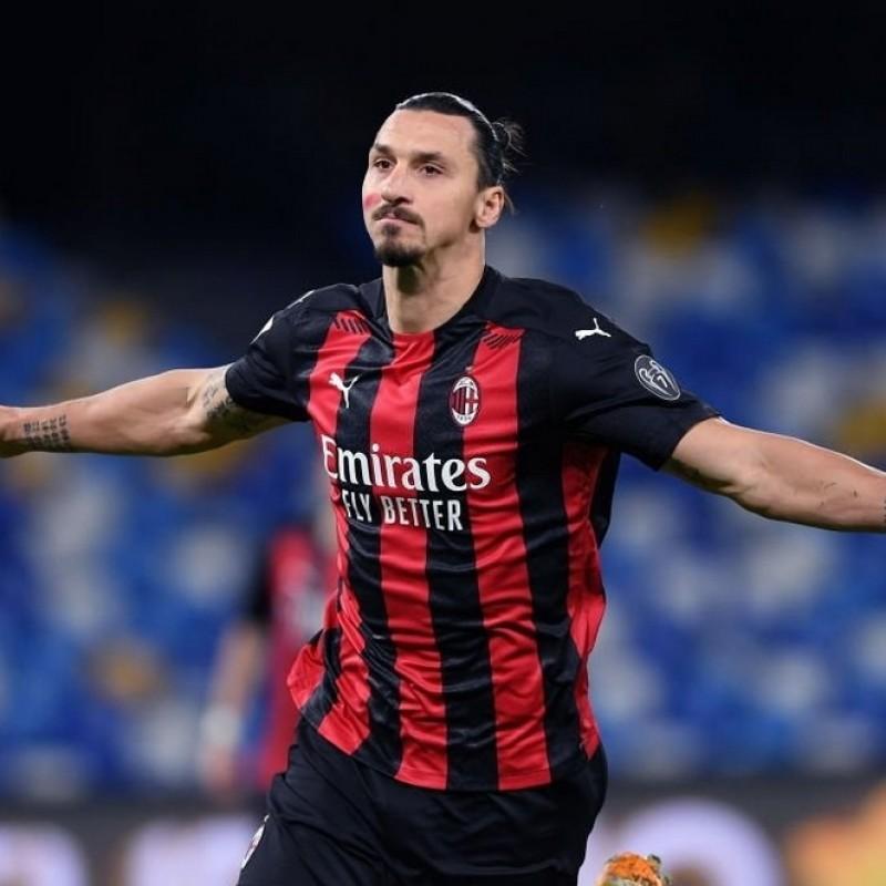 Ibrahimovic's Official Milan Signed Shirt 2020/21