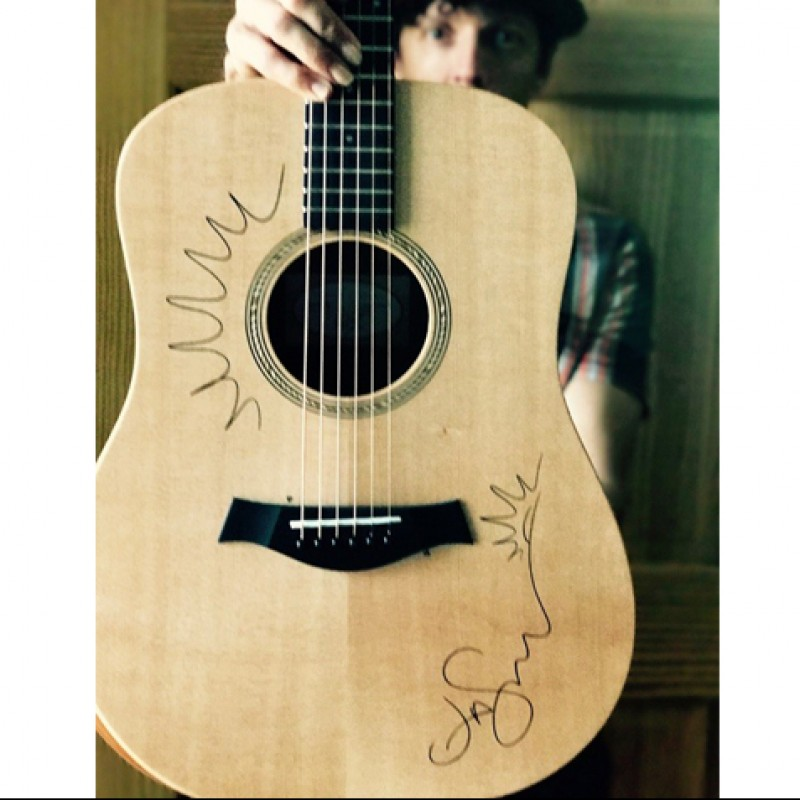 Taylor Guitar Signed by Jason Mraz