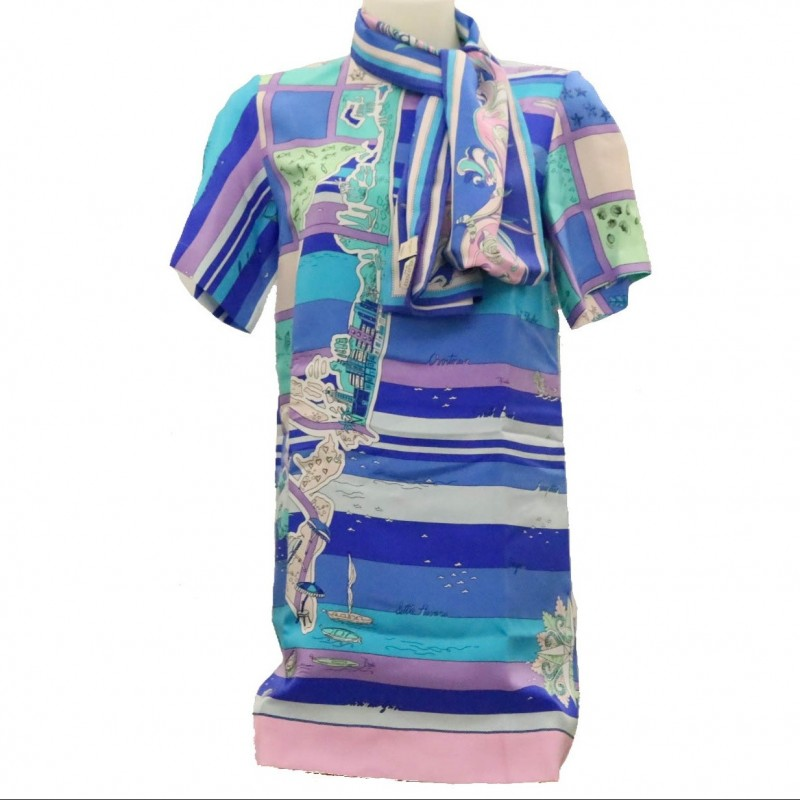 Emilio Pucci Dress and Scarf