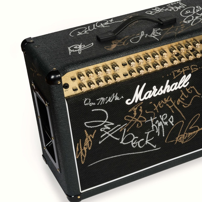 Marshall JVM Amp Signed By Slash, Jimmy Page of Led Zepplin, ZZ Top, Jeff Beck and More