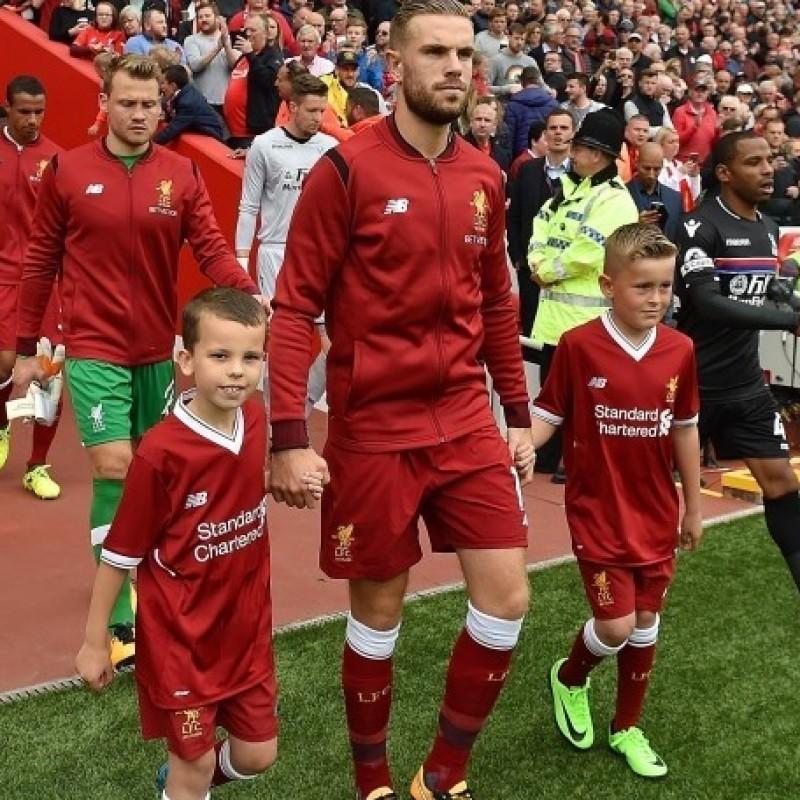 Una giornata da mascot del Liverpool FC