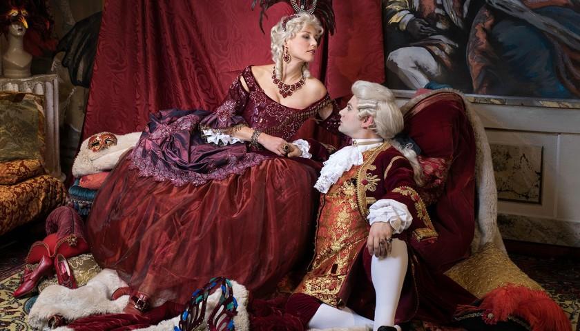 "Invitation to ""Venetian Reflections by Stefano Nicolao – Carnival Ball"" 2022"