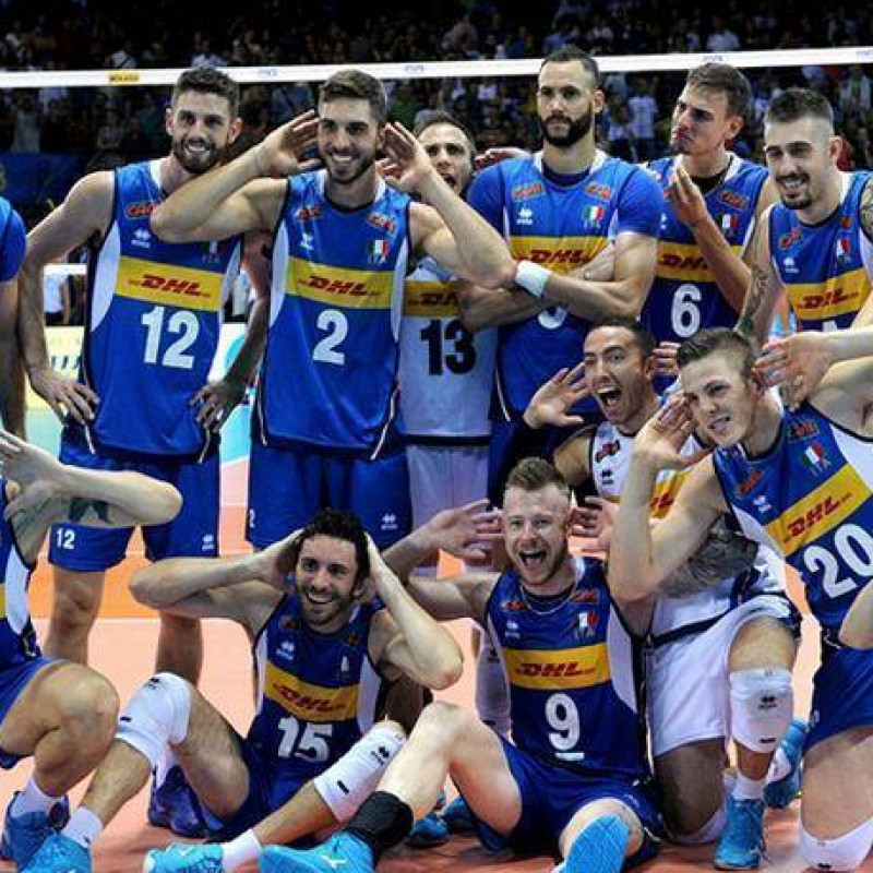 Italia Volley Match Jersey, 2019/20