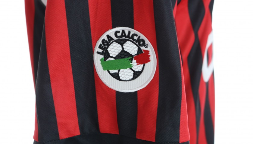 Shevchenko's Milan Match-Issued Shirt, 1999/00