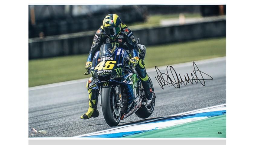 Valentino Rossi, Signed Photo MotoGP