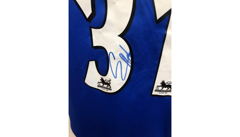 Weah's Official Chelsea Signed Shirt, 2000/01