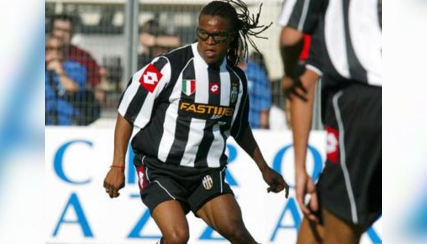 Davids' Juventus Match Shirt, Serie A 2002/03