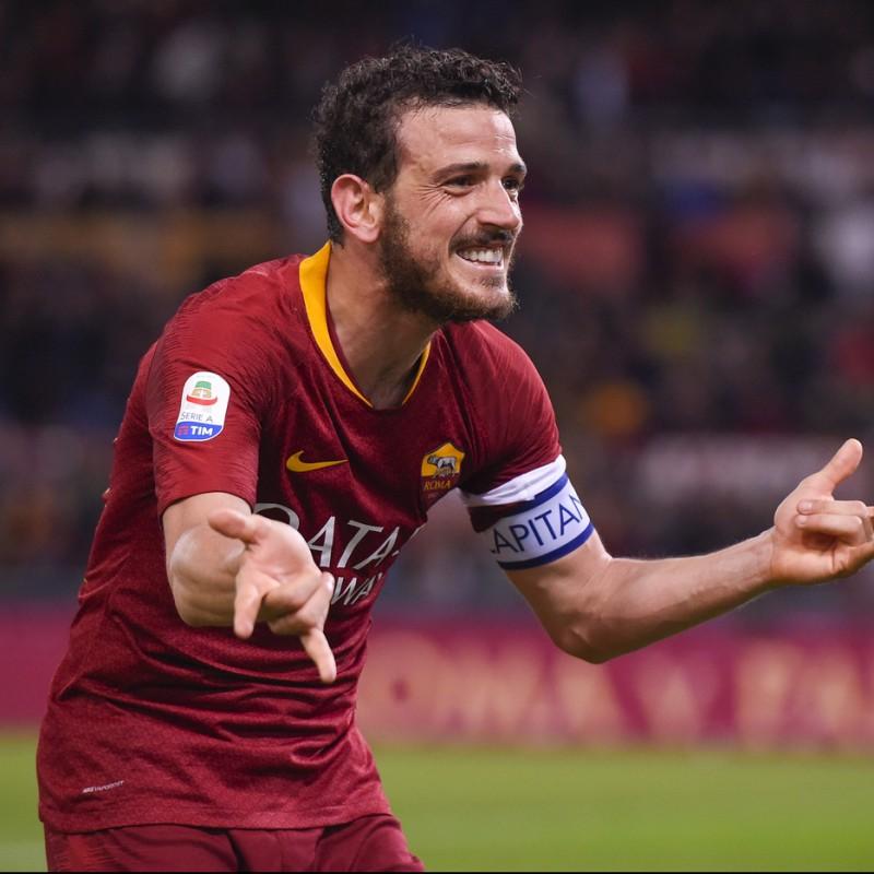 Florenzi's Roma Match Shirt, Serie A 2018/19