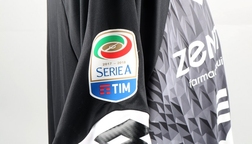 Perin's UNWASHED Special Genoa-Sampdoria Match-Worn Shirt