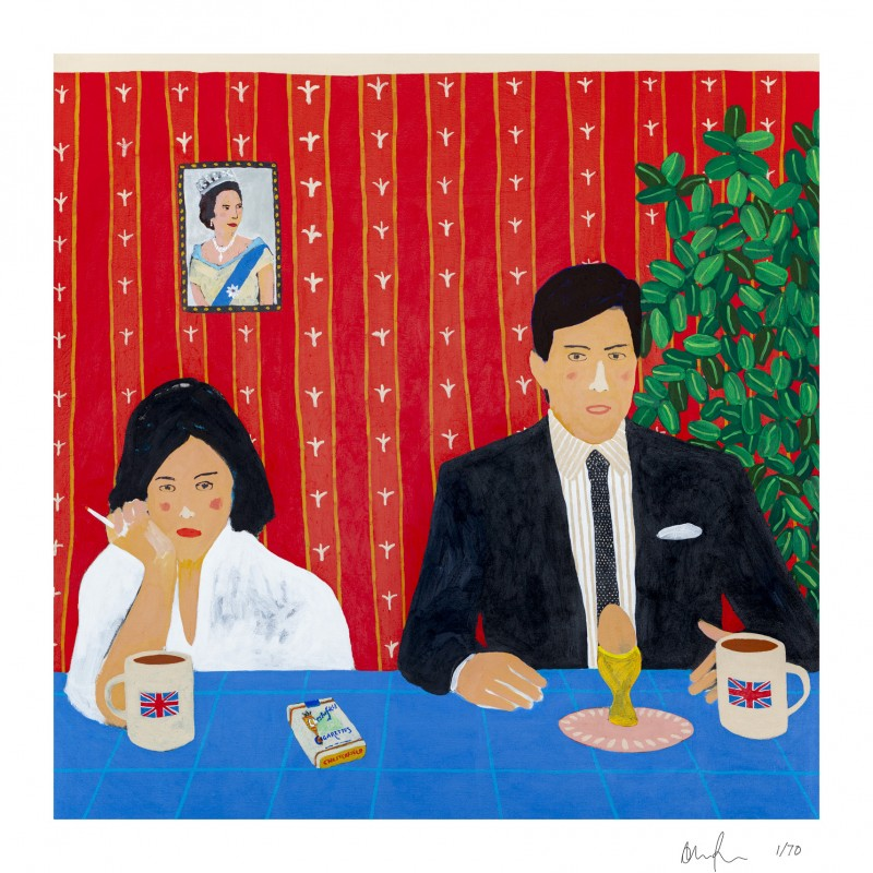 'From Breakfast with Love' Limited Edition Print by Alan Fears