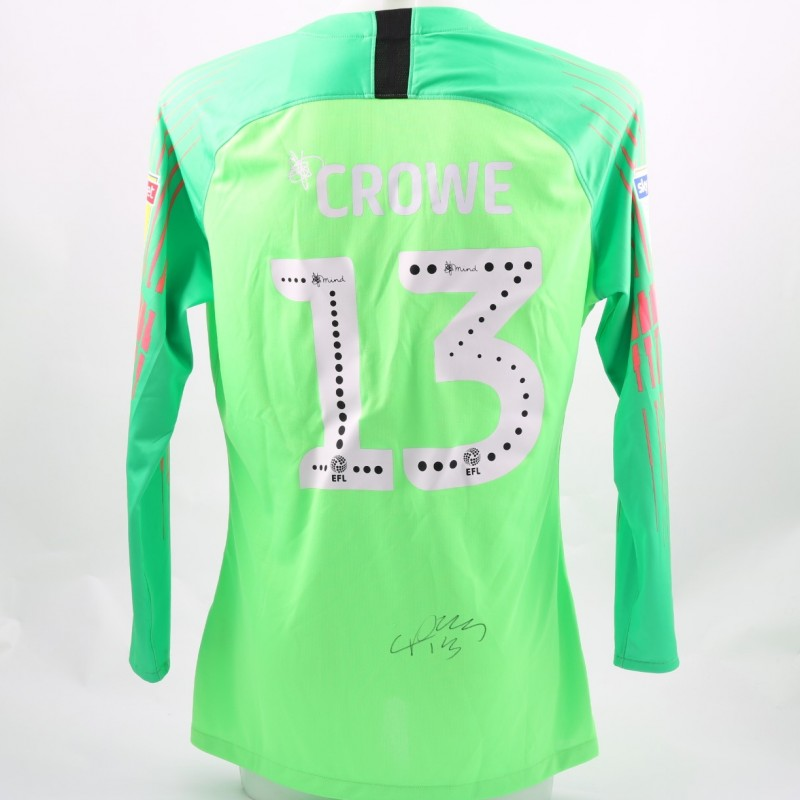 Crowe's Preston Issued and Signed Poppy Shirt