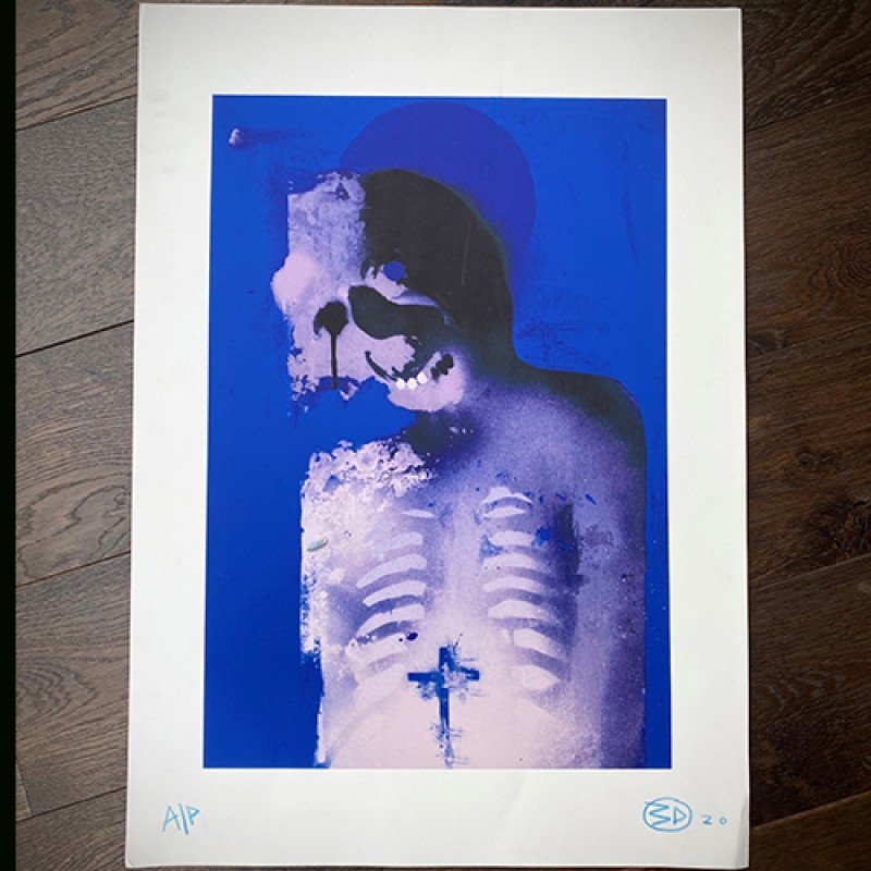 Signed Original Artist Proof by 3D (Massive Attack)