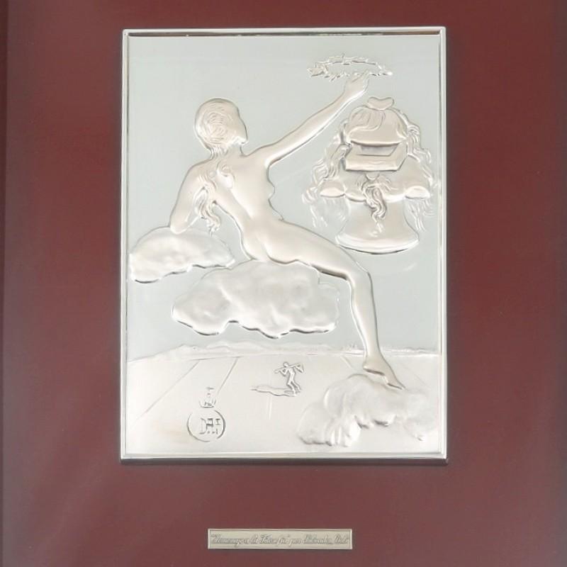 """Bas-relief """"Homenaje a La Filosofia"""" by Salvador Dalì"""