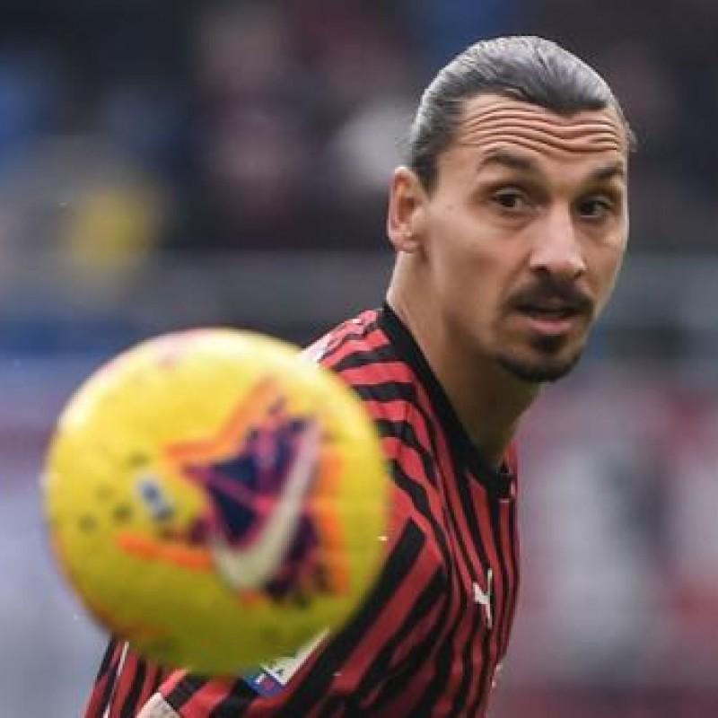 Match-Ball Milan-Torino 2019/20 - Signed by Ibrahimovic