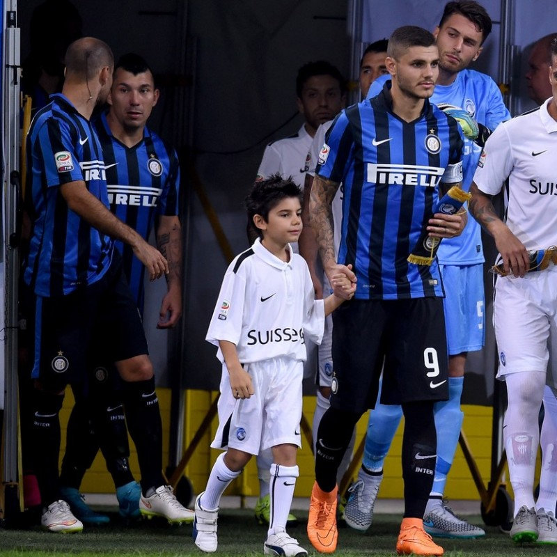 Take to the pitch as the FC Internazionale mascot in San Siro Stadium