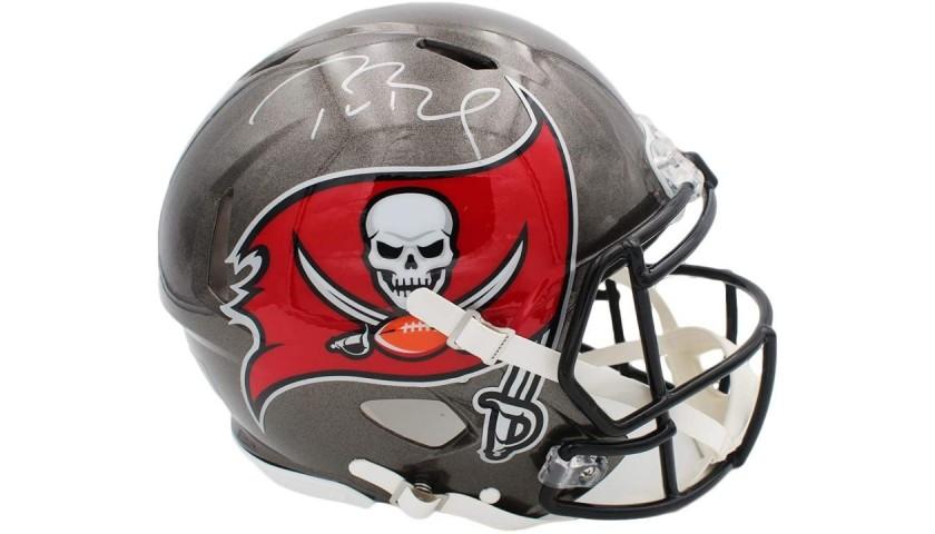 Tom Brady Authentic Speedflex Helmet with Digital Autograph