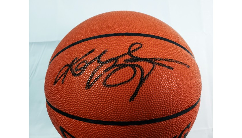 Kobe Bryant Hand Signed Basketball