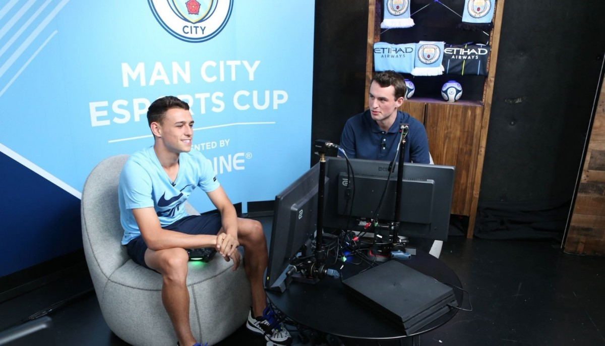 Win a Meet & Greet and Virtual FIFA Game with Phil Foden