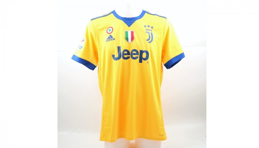 38eb543dccc Signed Official Mandzukic 2017 18 Juventus Shirt - CharityStars