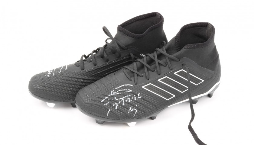 Adidas Predator Boots - Signed by Miralem Pjanic