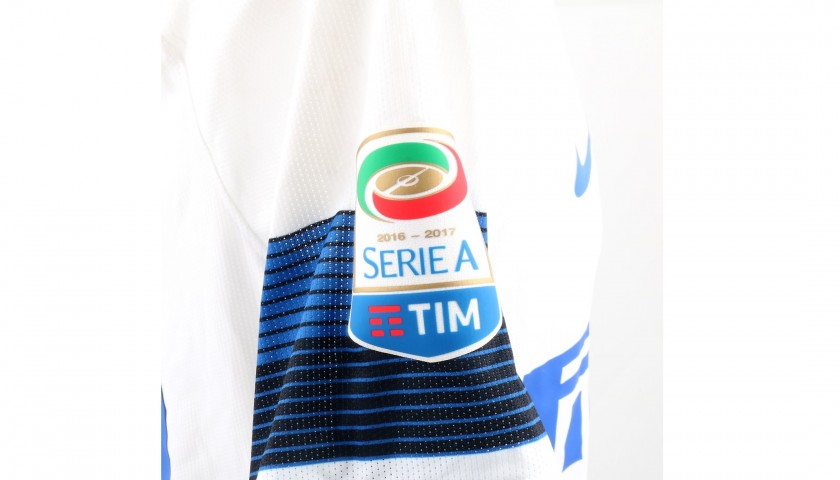 Candreva's Inter Match-Worn Shirt, Serie A 2016/17
