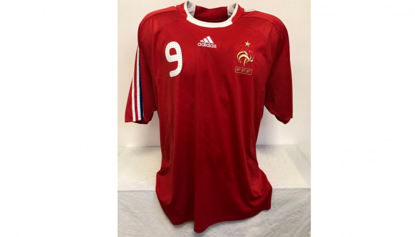 Benzema's Official France Signed Shirt, 2007/08