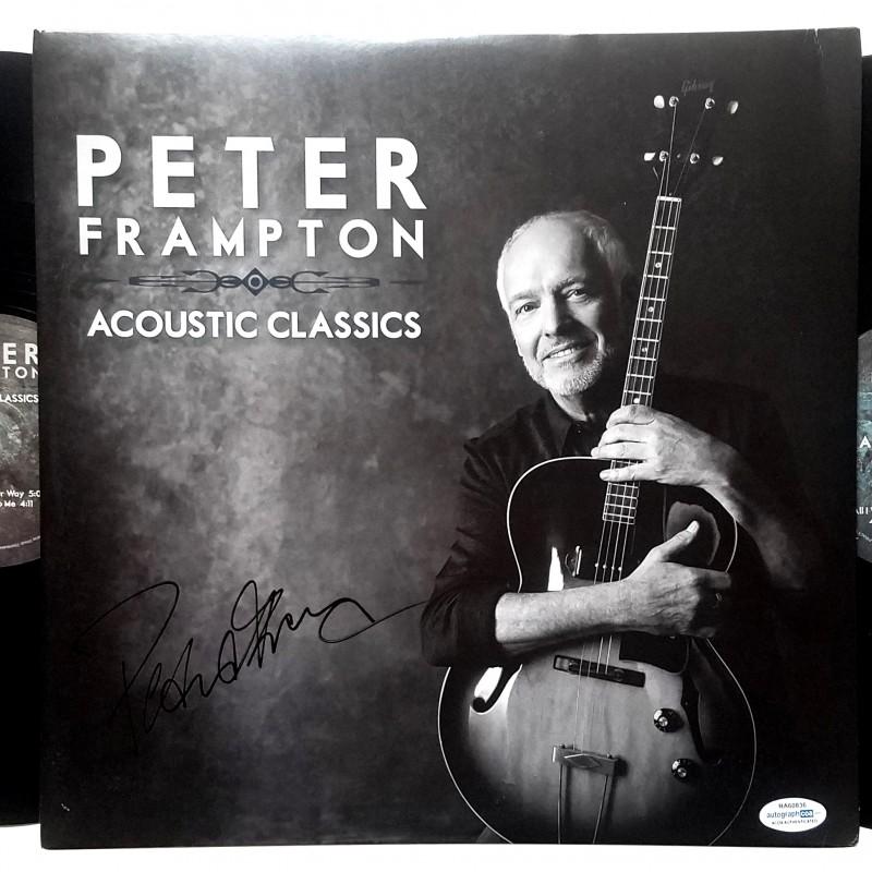 Peter Frampton Hand Signed Record Album