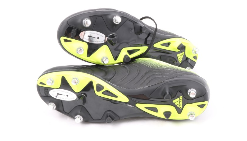 scarpe adidas gialle e nere pat run
