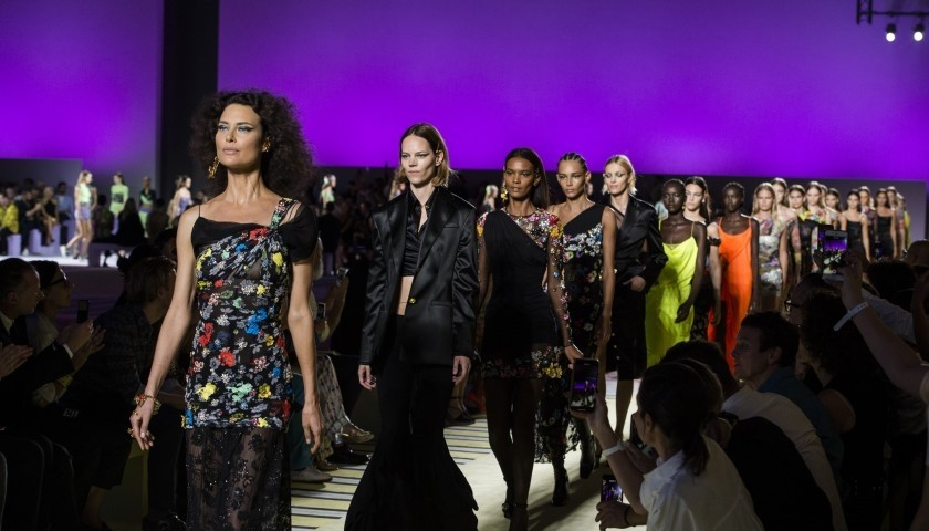 Attend the Versace F/W 2019/20 Fashion Show