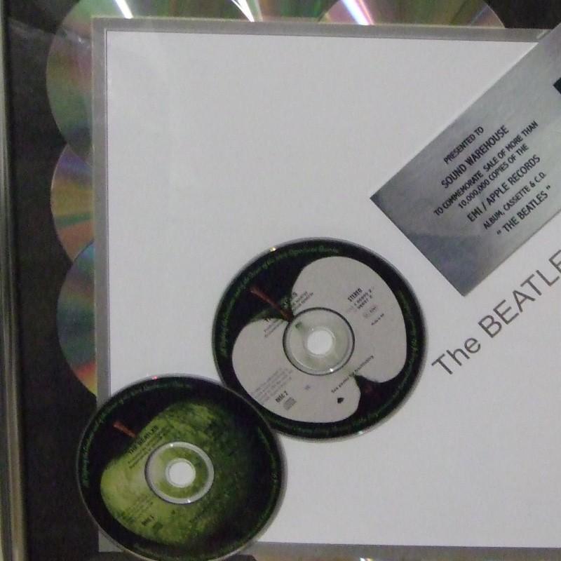 The Beatles Sound Warehouse Platinum Disc