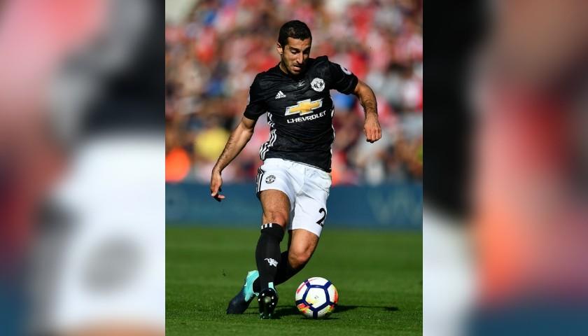 Mkhitaryan's Match Shorts, Southampton - Manchester United 2017