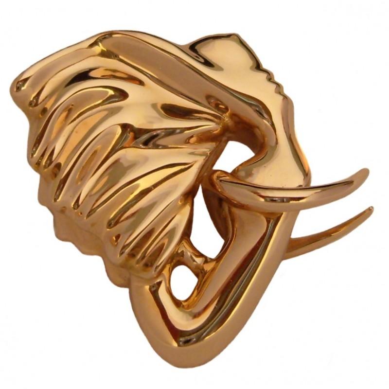 "Gold ""Eléphantasme"" Pendant by Anis Dargaa and Allan Schmidt"