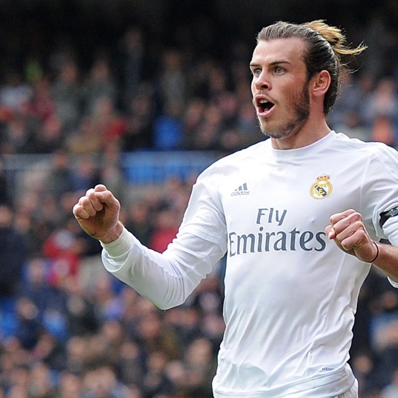 Gareth Bale Framed Signed Jersey