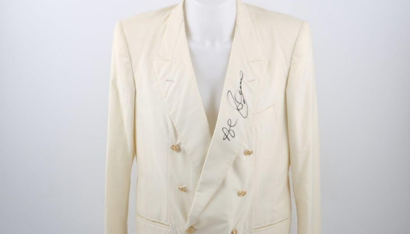 Dress worn by Al Bano Carrisi - signed