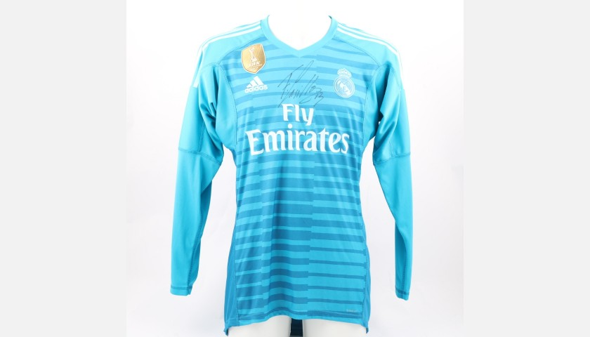 Casilla's Real Madrid Signed Shirt, 2018/19