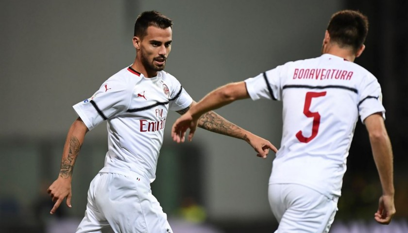 Suso's AC Milan Match-Issued Shirt, Serie A 2018/19