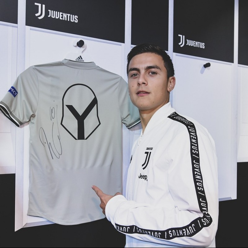 "Dybala's Juventus ""Here to Create"" Signed Shirt"
